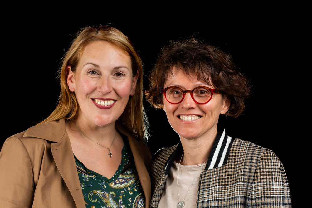 Aurèle et Sylvie, fondatrices