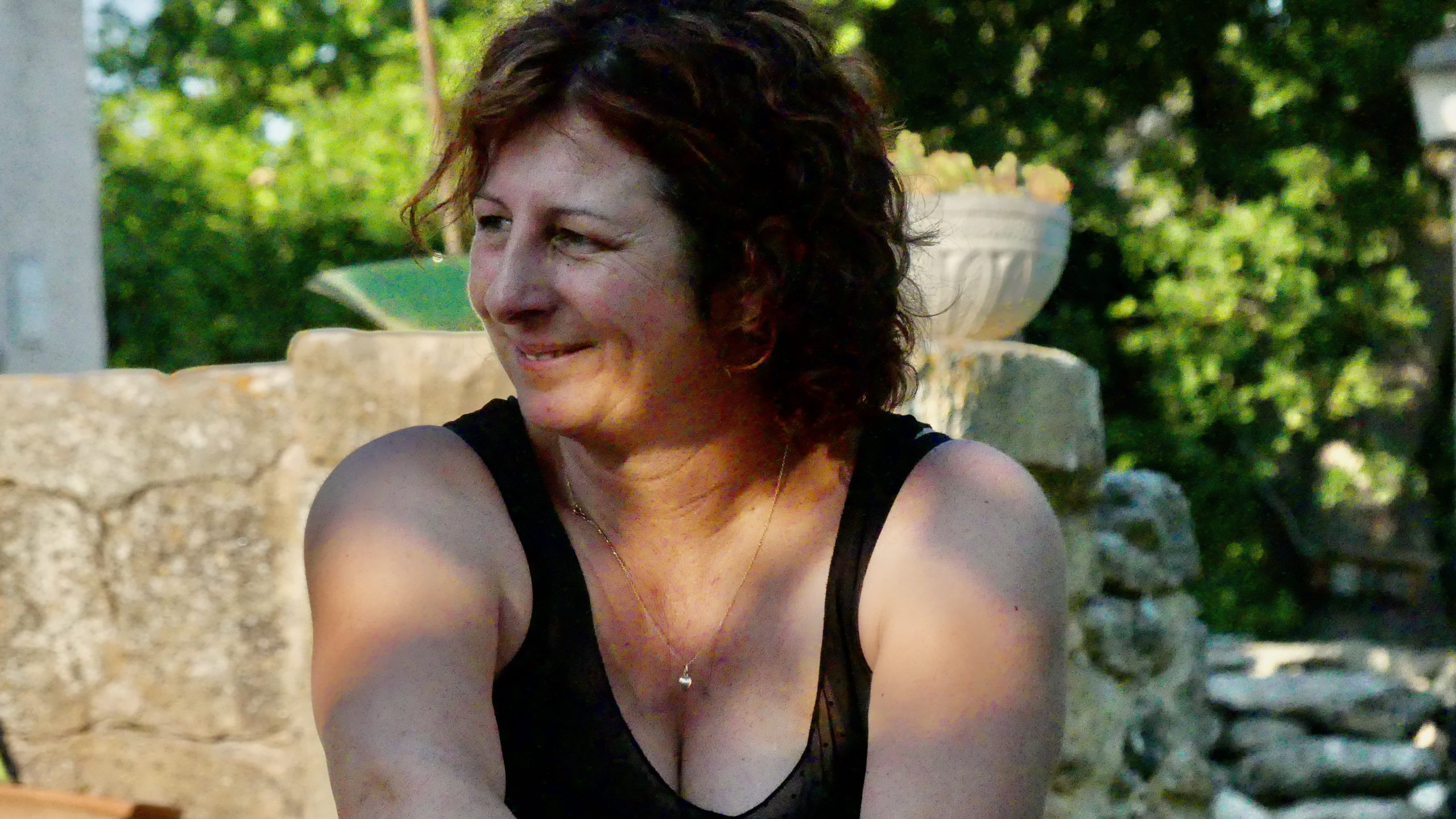 Carole Faudon, chevrière carrément bio installée à Eyguières et engagé dans le projet depuis le tout début.