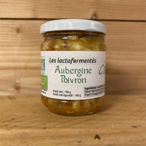 Aubergine Poivron 190gr