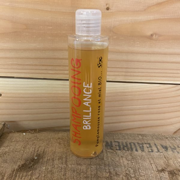 shampoing Brillance pamplemousse miel bio