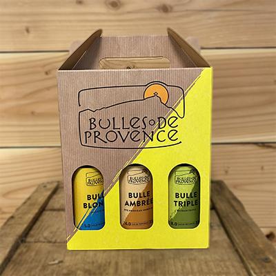Pack Noël 6 bts Bulles de Provence