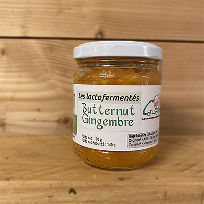 Butternut Gingembre 190gr