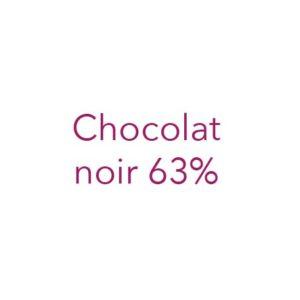 Chocolat noir 63%