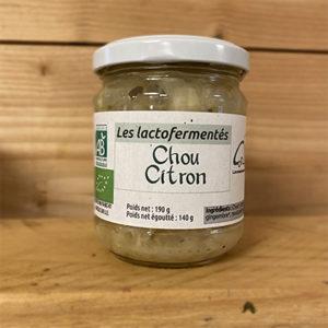Chou citron 190g
