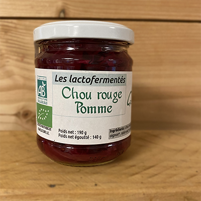 Chou rouge pomme