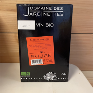 Bib de 5l Rouge Jardinettes