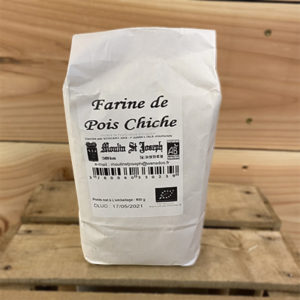 Farine Pois chiche 0.8 kg Moulin St Joseph