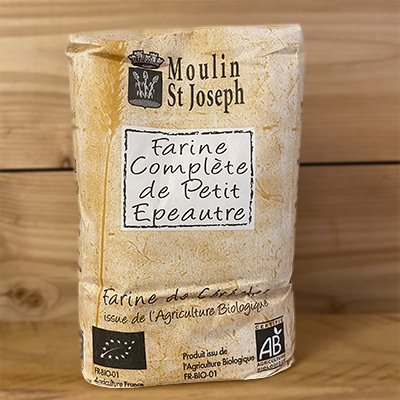 Farine complète petit epeautre Moulin St Joseph