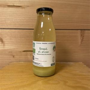 Fenouil et citron boisson lacto