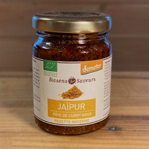 Jaipur pâte de curry doux