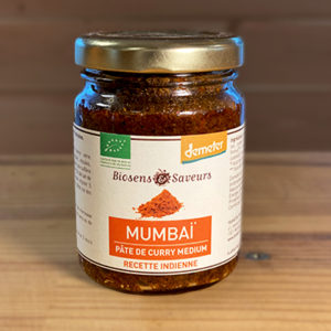 Mumbai pâte de curry medium bio