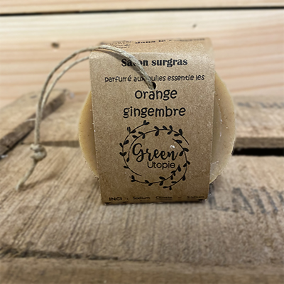 Savon HE orange et gingembre