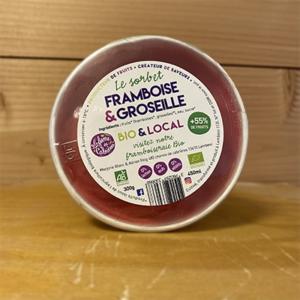 Sorbet Framboise Groseille 50g