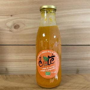 Soupe de carotte, orange et gingembre bio
