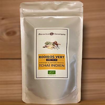 Rooibos vert Tchai indien