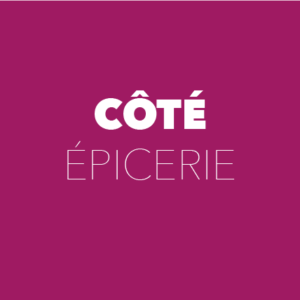 Côté épicerie